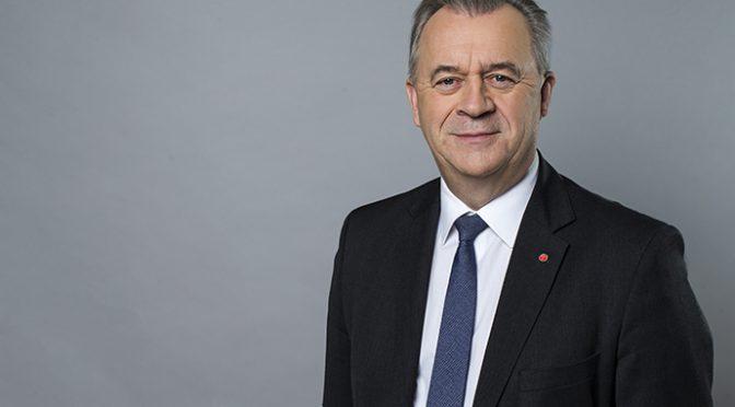 Sven-Erik Bucht gästar årsmötet