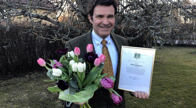 Årets lantbruksjournalist 2021 är Göran berglund